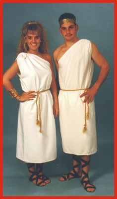 How To Make A Guy Toga How to Wear a T...