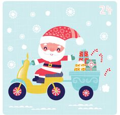 fhiona galloway illustration blog: 24th-final day of advent!!