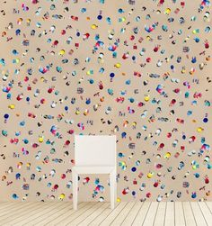 Gray Malin Lisbon Umbrellas Wallpaper - Black Crow Studios - $499 - domino.com