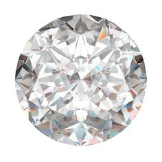 Brides.com: . Diamond Shape: Round  A round-cut diamond is one of the most popular cuts for engagement rings, and for good reason. It sparkles like none other, thanks to the stone's 58 facets. Brides who favor this classic shape are traditionalists at heart, and recognize a good thing when they see it.