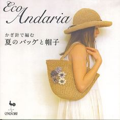 Eco andaria Crochet bags and hats, free patterns