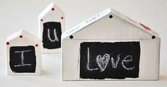 Home is Where The Heart Is – Mini Chalkboard {video tutorial} By Kristen Robinson