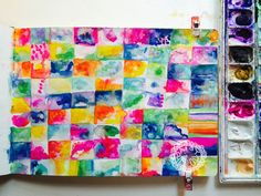"""myscrapbookevolution: """"Organizing Chaos in Your Art Journal from Daisy Yellow """""""