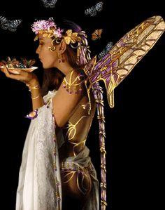 Animated glitter fairies | Fairies Glitter Graphics Fairy Pictures