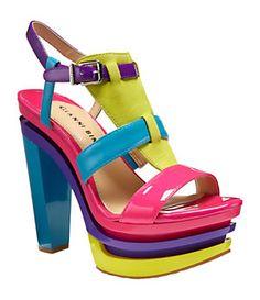 Gianni Bini Calypso Platform Sandals | Dillard's