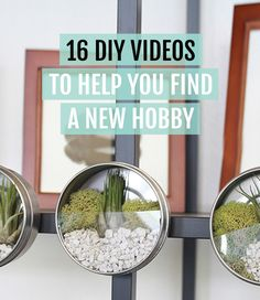 Find a New Hobby With These Free DIY Videos