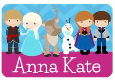 Personalized Frozen Heat Pressed Baby/Kids Clothing on Etsy, $16.00