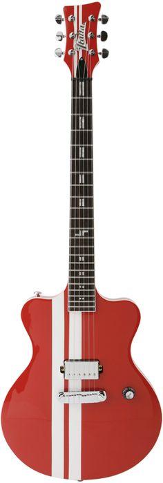 Italia Guitars Maranello Speedster Red