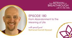 New podcast with Dr. Debi Silber discussing abandonment and the search for meaning in life. Areas Of Life, Meaning Of Life, Special Guest, Betrayal, Helping People, Abandoned, Meant To Be, Insight, Search