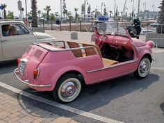 Fiat 500 Jolly Ghia by Maurizio Boi, via Flickr