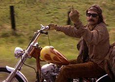 David Hopper in Easyrider...