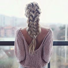 Stunning double dutch braid