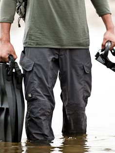 Triple Aud Design - amphibious cargo pant. lightweight, quick-drying, brethable