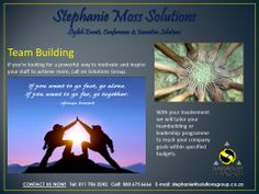 Let Solutions Group take care of all your Team Building arrangements. #TeamBuilding