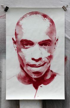 Club Icons on Behance Nice Art, Cool Art, Thierry Henry, Pop Art Design, Illustration Art, Illustrations, King Henry, Sports Stars, Arsenal Fc