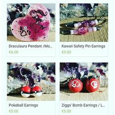 My shop is full with one of a kind jewelry  if there is anything special you need just ask! Link to my shop is in my profile  #shop #littlemadshop #monsterhigh #draculaura #mh #mattel #pokemon #pokemonearrings #pokeballearrings #zigs #zigsbomb #lol #leagueoflegends #leagueoflegendsaccessoires #leagueoflegendsjewelry #nerdjewelry #nerdy #gamerwear #gamerstuff #gamergirl #otaku #dollcollector  #resin #fimo #polymerclay #diy #selfmade #handmade #clayart #resincraft by _madcreations_