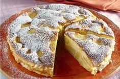 Pudding Desserts, Pudding Recipes, No Bake Desserts, Dessert Recipes, Tart Recipes, Apple Recipes, Cooking Recipes, Romanian Desserts, Romanian Food