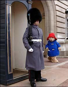 Paddington at the Palace!  Wonder if he met the Queen?!!