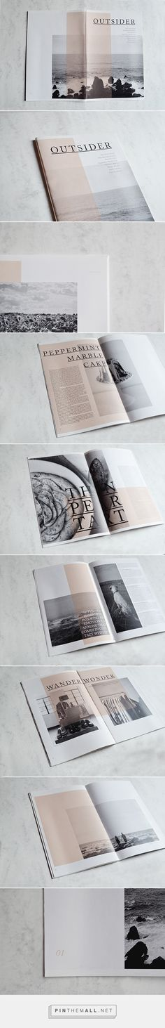 OUTSIDER MAGAZINE on Behance..