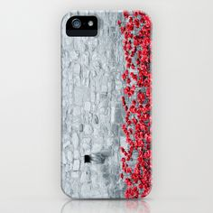 Tower Poppies 01B iPhone & iPod Case by Pete Edmunds - $35.00