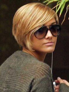 New Short Blonde Hairstyles | 2013 Short Haircut for Women