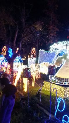 Christmas Tree Lane In Fresno Ca.