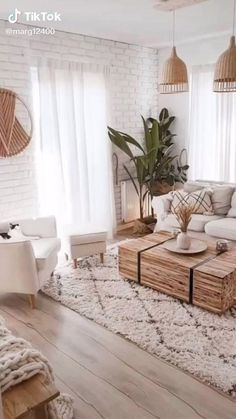 Boho Living Room, Living Room Modern, Small Living, Cozy Living, Bohemian Living, Cottage Style Living Room, Living Spaces, Small Space Living Room, Beige Living Rooms