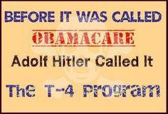 "Hitler's T4 Program Revived In Obama's Healthcare ""Reform"""