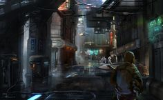 STAR WARS 1313 I was the original AD on this project, leaving the studio after its 3rd reboot. Surprisingly, the reboot changed almost nothing of my direction, save for replacing the two co-op main...