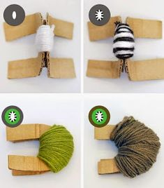 7 das Artes: Pompons no formato de frutas.
