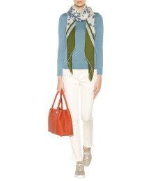 Loro Piana - Giardini Del Lago printed cashmere and silk-blend scarf - mytheresa.com
