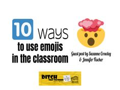 10 ways to use emojis in the classroom - Ditch That Textbook High School English, English Class, Skills To Learn, Learning Skills, Create Your Own Puzzle, Education Conferences, 21st Century Learning, Problem Solving Skills, Too Cool For School