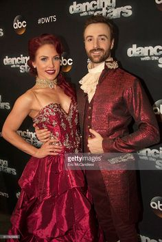 The eight remaining celebrities will dance to some of the most popular songs throughout the decades, as 'Eras Night' comes to 'Dancing with the Stars,' live, MONDAY, OCTOBER 24 (8:00-10:01 p.m. EDT), on the ABC Television Network. Sharna Burgess and James Hinchcliffe