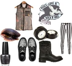 """Alternative Rock"" by luisveiga on Polyvore"