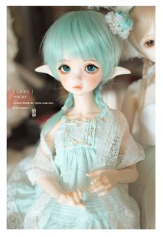 Mini: Color of Sky Blue and Color of a Tea Green. {DIM Flowne & BlueFairy Denis} + Other Super cuteeee