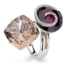 brumani rings...my style because its unusual and beautiful.