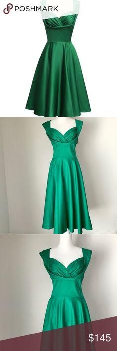 50cc92e8baf8 Trashy Diva Honey dress retro swing green size 16 Brand new with tags.  Trashy Diva