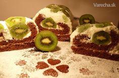 Tvarohový koláč s kivi (fotorecept) - Recept