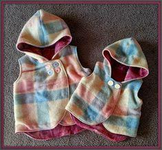 Este chaleco es ideal para tus peques, cada uno a su medida #costura #peques #chaleco
