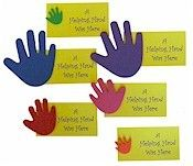 The Girl Scout resource: YELLOW PETAL- FRIENDLY AND HELPFUL Helping Hands acitivity