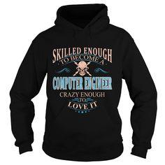 COMPUTER ENGINEER T-Shirts, Hoodies. CHECK PRICE ==► https://www.sunfrog.com/LifeStyle/COMPUTER-ENGINEER-101620067-Black-Hoodie.html?id=41382