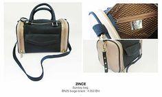 Zince classic : Sunday bag : Beige  / For more information pls follow the link zinceshop.com or facebook/zince  or email : zinceshop@hotmail.com