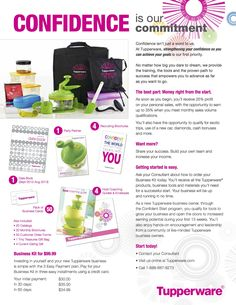 Starting your business is as easy as a $99 investment that you can make 3 payments on AND you can begin to make money NOW creating your own schedule  www.mytupperware.com/lauramurphy