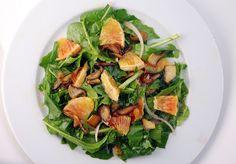 Vegetable Matter: Salad with Arugula, Dandelion Greens and Blood Orange Vinaigrette