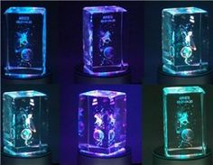 Exquisite Aries Pattern Crystal LED Lamp (Silver) by QLPD. $88.04. This constellation crystal lamp is designed for you.