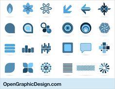 Elements Of Design | Design Elements - simple graphic symbols - download design icons ...