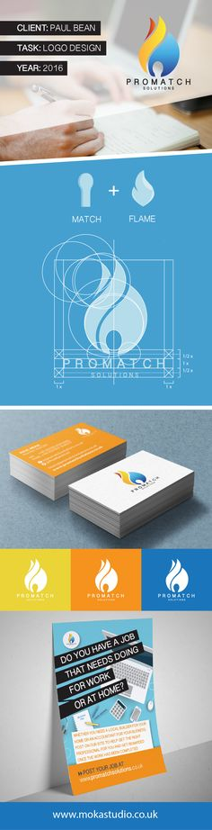 This project includes the new logo design and literature for ProMatch, a simple and effective web-based platform that matches people needing services with the right service providers. #logo #services #portfolio #graphicdesign #graphic #design #logodesign