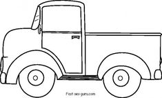 Printable old ford pickup coloring pages - Printable Coloring Pages For Kids