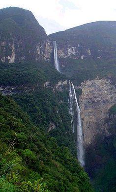 gocta waterfall, peru