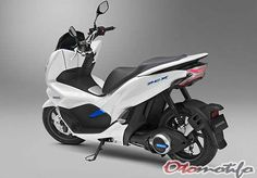 Honda PCX Electric Scooter Uses Battery Swapping Honda Pcx, Honda Ruckus, Honda Bikes, New Honda, Motor Scooters, Vespa Scooters, Hero Motocorp, Tokyo Motor Show, Best Scooter